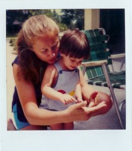 My mom and I