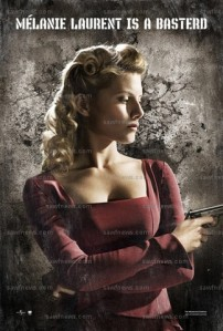 Inglourious_Basterds_Poster_melanie_Laurent